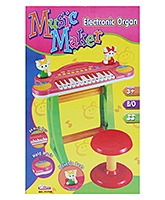 Multi Color Music Maker Electronic Organ Toy