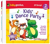 Baby Genius - Kids Dance Party 2 Audio CD In English