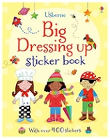 Usborne - Big Dressing Up Sticker Book