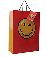 Archies - Red Smiley Paper Bag