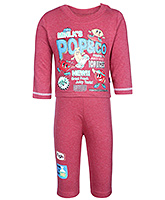 Printed Full Sleeves T Shirt With Leggings Small, 0 - 6 Months, Comfortable cotton t shirt with...