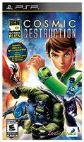 Buy Ben 10 -  Ultimate Alien Cosmic Destruction PSP