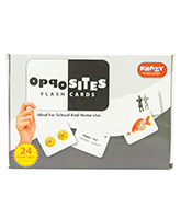 Krazy Opposite Flash Cards