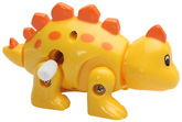 Wind Up Roaming Dino Yellow 1 Year+, 6 cm, Just Wind it up to watch it walk away...