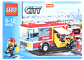 Fire Truck 60002 5 Years+, 8 x 16 x 5 cm, Build the LEGO City Fire Tr...