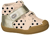 Buy Elefantastik Casual Boots with Velcro Strap Closure - Cream