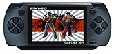 Wonder Boy Gaming Console Hand Held Portable Black 3 Inches Color LCD Screen, Built In Lithium Battery,...