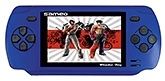 Wonder Boy Gaming Console Hand Held Portable Blue 3 Inches Color LCD Screen, Built In Lithium Battery,...