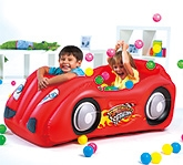 Buy Bestway - Race Car And Game Ball Combo Red