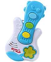 Melody Box Guitar White 12 Months+, Non toxic, Sports a colorful design and ...