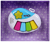 Dream Music Guitar Cum Piano White Guitar key gives guitar sound DO, RE, MI, Piano key ...
