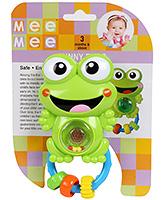 Mee Mee - Baby Frog Green Rattle - 3 Months+