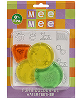 Fun And Colorful Pebble Shape Water Teether 4 Months+, 0 % BPA, This Teether Is An Essential Pro...