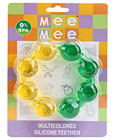 Fun And Colorful Bubble Ring Shape Water Teether 4 Months+, 0 % BPA, This Teether Is An Essential Pro...