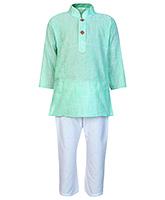 Buy Baby Hug - Ethnic Wear Kurta And Pajama Set