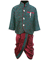 Babyhug Ethnic Wear Kurta And Dhoti Set
