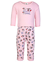 Tom And Jerry Print T Shirt With Leggings Small, 0 - 6 Months, Soft and comfortable kids favor...