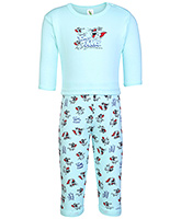 Tom And Jerry Print T Shirt With Leggings Blue Small, 0 - 6 Months, Soft and comfortable kids favor...