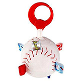 Tag Touch Down Baseball 0 To 12 Months, 10.16 X 10.16 X 20.32 Cm, Satin Tag ...