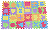 Fab N Funky - Eva Puzzle Mat Set Of 24
