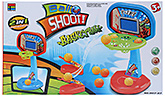 Fab N Funky - 2 In 1 Ball Shoot Basket Ball