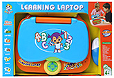 Fab N Funky - Interactive Learning Laptop Blue