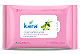 Cleanser - Kara Refreshing Facial wipes