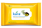 Kara Deep Pore Cleansing Wipes