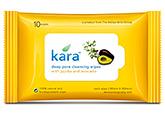 Cleanser - Kara Deep Pore Cleansing Wipes