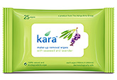 Kara Make-Up Removal wipes