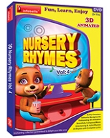 Infobells - Nursery Rhymes 3D Animated Volume 4