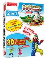 Infobells - 2 In 1 3D Nursery Rhymes DVD Pack