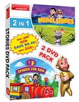 Infobells - 2 In 1 Stories For Kids DVD Pack