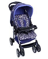 Little Wanderers - Blue And Grey Stroller HA 2801N - 90 X 53 X 99 Cm