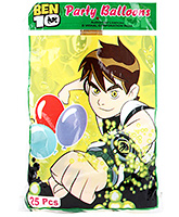 Ben 10 Balloons - 25 Pieces