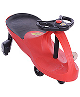 Manual Push Swing Sleek Car Red 75 X 31 X 40 Cm, Sturdy And Light In Weight, A Fanta...