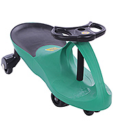 Manual Push Swing Sleek Car Green 75 X 31 X 40 Cm, Sturdy And Light In Weight, A Fanta...