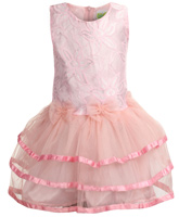Baby Hug - Party Wear Dress With Bloomer
