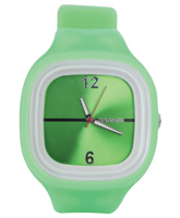 Fab N Funky - Kids Light Green Watch With Dial Glossy Green