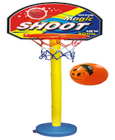 Basket Ball Set 4 Years+, 5 level adjustable heights (up to 5 feet) ...