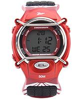 Titan - Zoop Kids Digital Black Watch With Red Dial