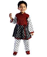 Buy DotnDitto - Kedia Angrakha Pajama Set