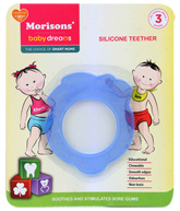 Buy Morisons Baby Dreams - Silicone Toy Teether Apple Design