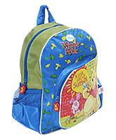 Winnie The Pooh - 12 Inches School Bag Blue - 11.5 x 2 x 30 cm