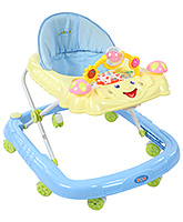 Buy Fab N Funky - Baby Walker With Rattle Play Tray Blue