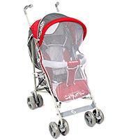 Buy Fab N Funky Kangwawa Baby Stroller Red