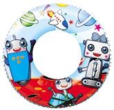 Bestway Swim Ring Robot Print