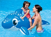 Bestway Dolphin Ride On 63 X 35 Inch, 3 - 6 Years, Made Of PVC Material