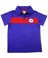 Campana - Applique Patch Polo Neck T Shirt - 3 - 4 Years