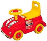 Buy Girnar Beetle Car Manual Push Ride On - Red